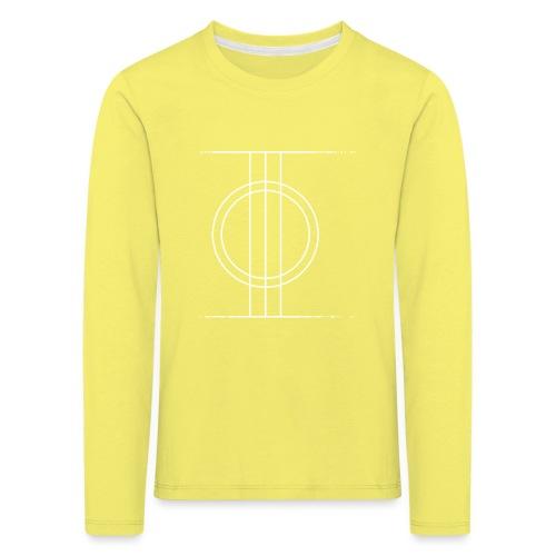 Sapmi black - Premium langermet T-skjorte for barn