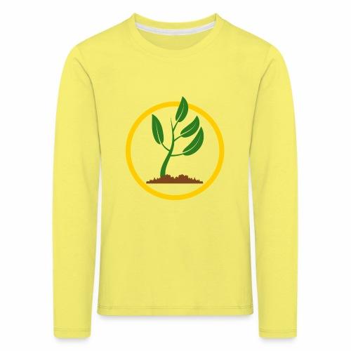 Setzlingemblem - Kinder Premium Langarmshirt