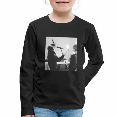 collab med timm9o9 - Børne premium T-shirt med lange ærmer