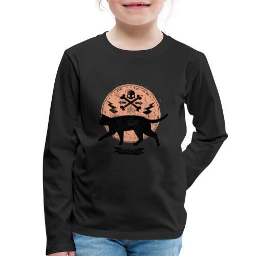 Catwalk - Kinder Premium Langarmshirt
