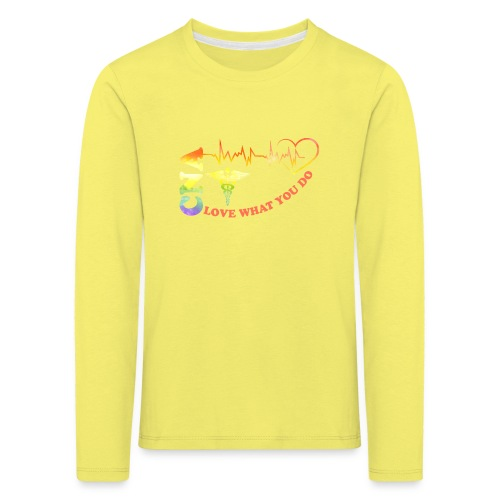 Cna Love What You Do - Kids' Premium Longsleeve Shirt
