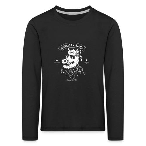 CORSEAMOTO TEE SHIRT full png - T-shirt manches longues Premium Enfant