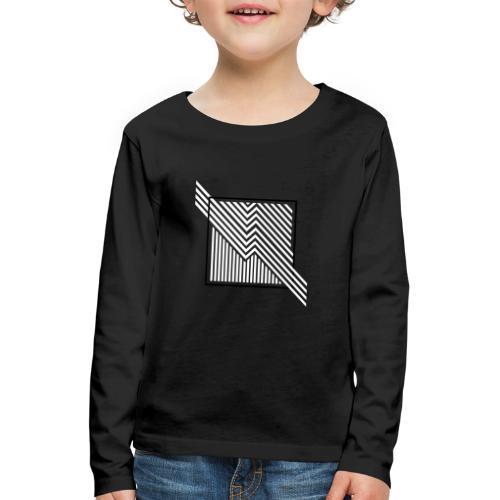 Lines in the dark - Kids' Premium Longsleeve Shirt