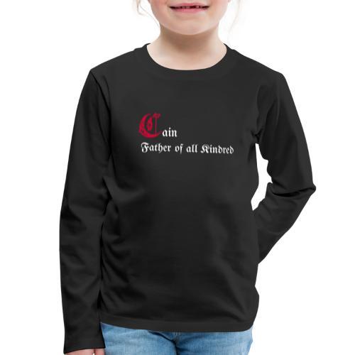 Cain father - Maglietta Premium a manica lunga per bambini