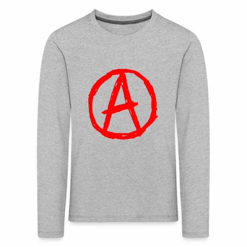 anarchie - Kinder Premium Langarmshirt
