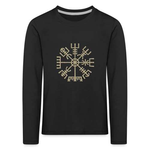 Vegvisir-The-Runic-Viking or - T-shirt manches longues Premium Enfant