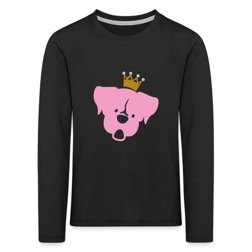 Prinz Poldi rosa - Kinder Premium Langarmshirt