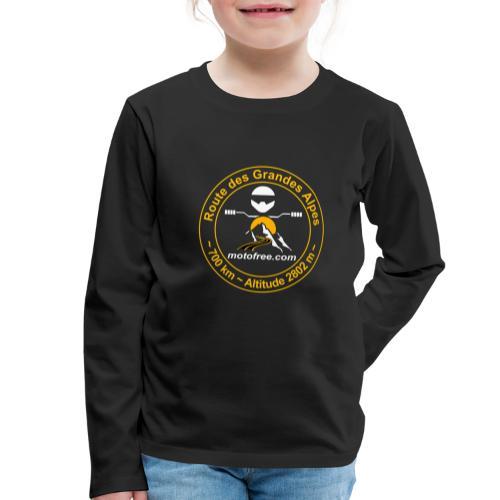 Route des Grandes Alpes Motofree (sans date) - T-shirt manches longues Premium Enfant