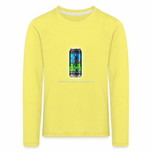 Nafta Energy Drink - Maglietta Premium a manica lunga per bambini