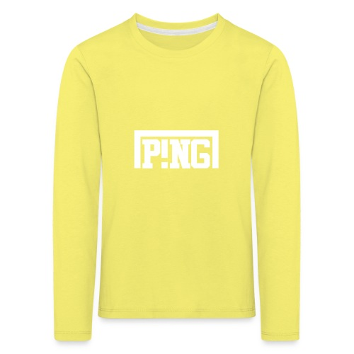ping2 - Kinderen Premium shirt met lange mouwen