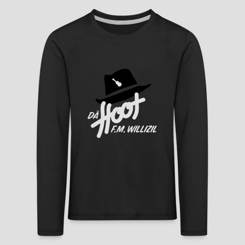 daeHoot_Shirt_Logo1_2c - Kinder Premium Langarmshirt