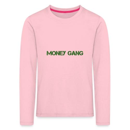 money gang rug tr gif - Kinderen Premium shirt met lange mouwen