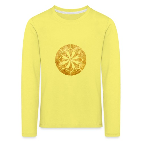 Sanja Matsuri Komagata mon gold - Kids' Premium Longsleeve Shirt