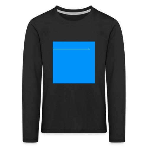 sklyline blue version - T-shirt manches longues Premium Enfant