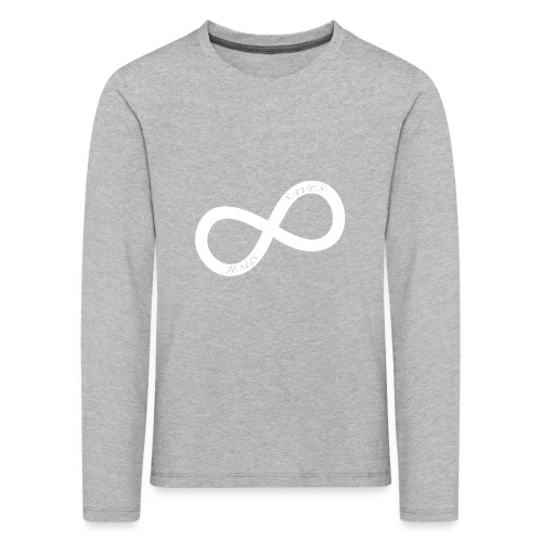 white JS.png - Långärmad premium-T-shirt barn