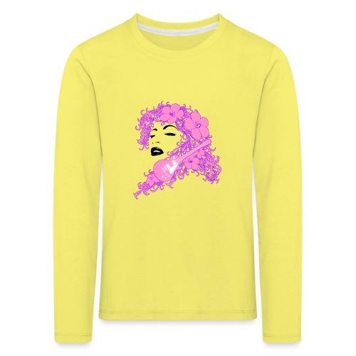 Lady Flo - Maglietta Premium a manica lunga per bambini