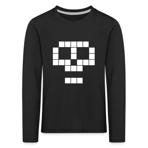 skull - T-shirt manches longues Premium Enfant