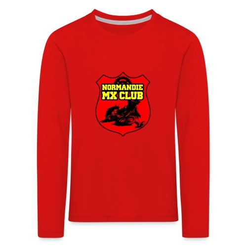 Casquette Normandie MX Club - T-shirt manches longues Premium Enfant