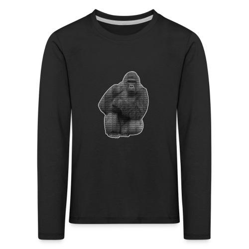 harambe 2k png - Børne premium T-shirt med lange ærmer