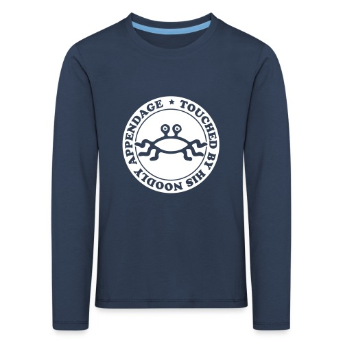 Touched by His Noodly Appendage - Kids' Premium Longsleeve Shirt