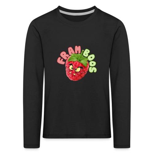 framboos - Kinderen Premium shirt met lange mouwen