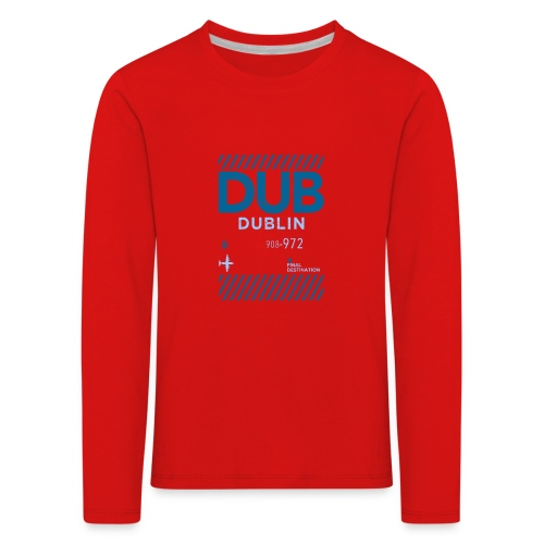 Dublin Ireland Travel - Kids' Premium Longsleeve Shirt