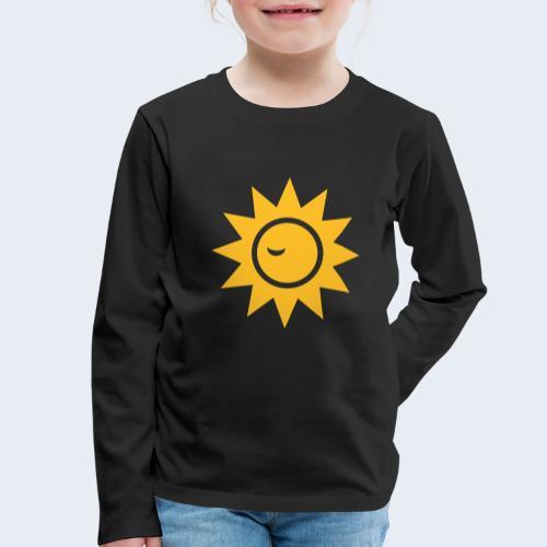 Winky Sun - Kinderen Premium shirt met lange mouwen