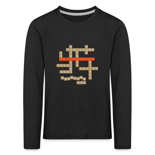Scrabble - Switzerland - Kinder Premium Langarmshirt
