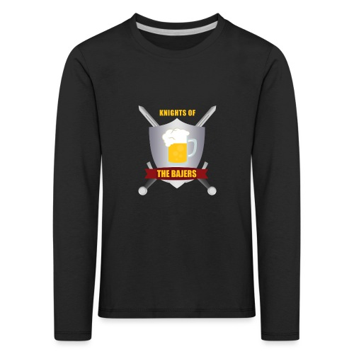 Knights of The Bajers - Børne premium T-shirt med lange ærmer