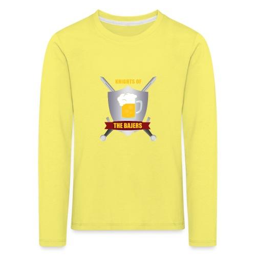 Knights of The Bajers - Børne premium T-shirt med lange ærmer