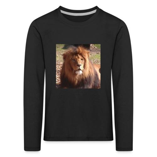 Lejon - Långärmad premium-T-shirt barn