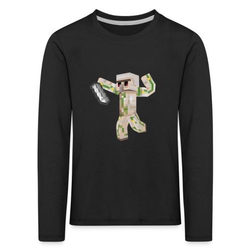 Starka GolemGamingYT - Långärmad premium-T-shirt barn