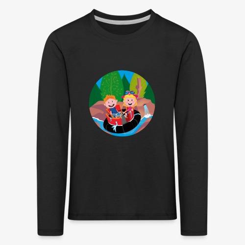 Themepark: Rapids - Kinderen Premium shirt met lange mouwen