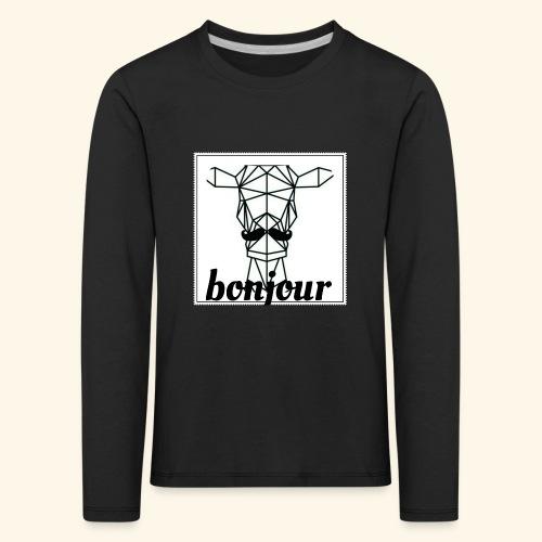 Bonjour - Kinderen Premium shirt met lange mouwen