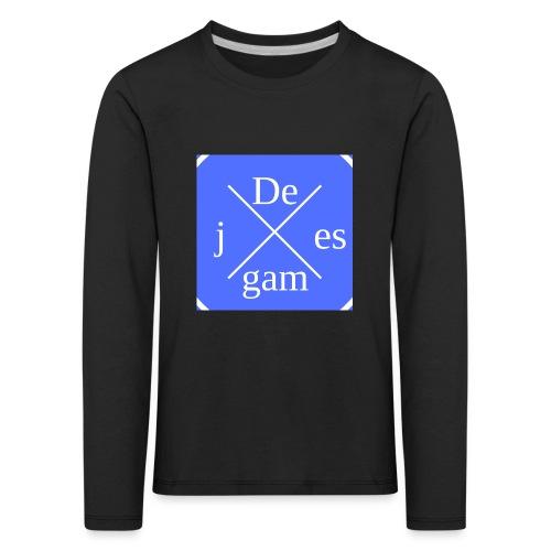 de j games kleren - Kinderen Premium shirt met lange mouwen