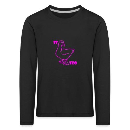 REBUS...STOCAZZO - Maglietta Premium a manica lunga per bambini