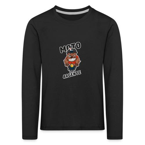 moto argente - T-shirt manches longues Premium Enfant
