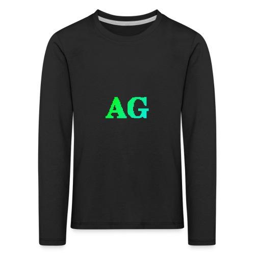 ATG Games logo - Lasten premium pitkähihainen t-paita