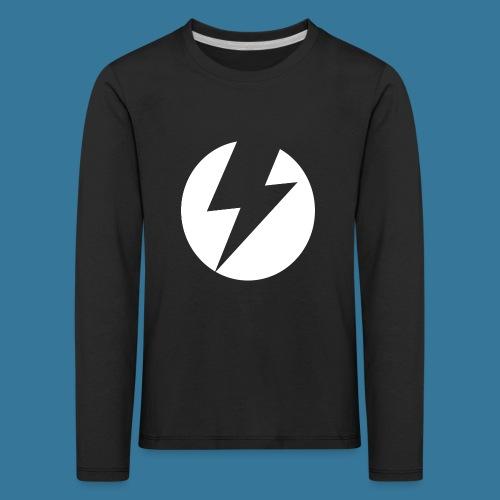 BlueSparks - White - Kids' Premium Longsleeve Shirt