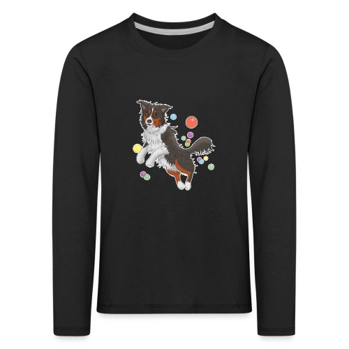 Australian Shepherd - Kinder Premium Langarmshirt