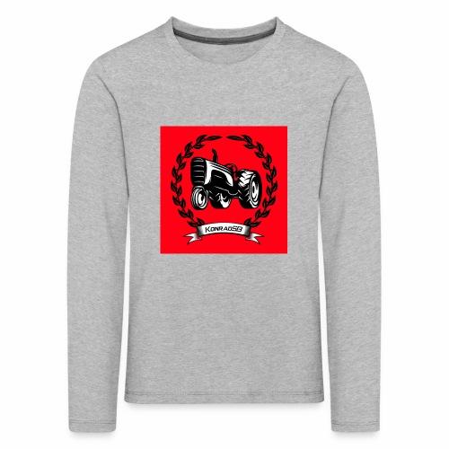 KonradSB czerwony - Koszulka dziecięca Premium z długim rękawem