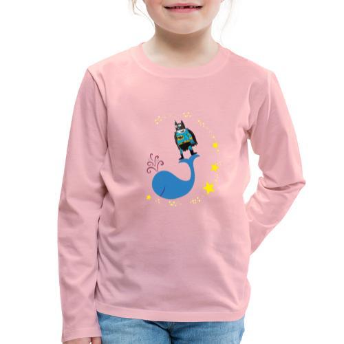 Super baleine - T-shirt manches longues Premium Enfant