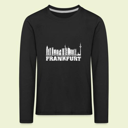 Frankfurt - Kinder Premium Langarmshirt