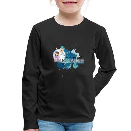 Mehrwert mit Richtig Schwanger - Kinder Premium Langarmshirt