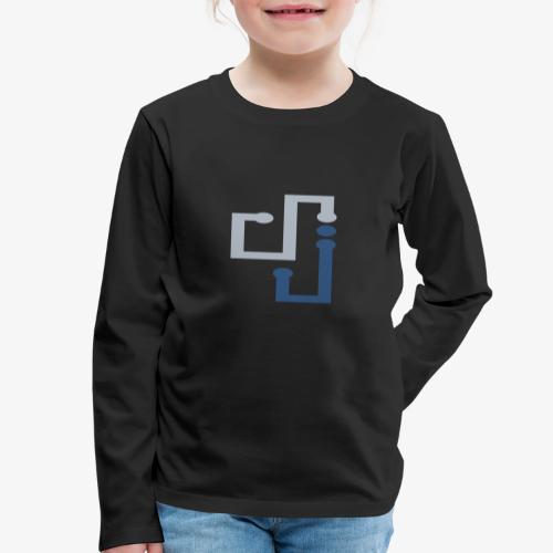 Amo la música DJ - Camiseta de manga larga premium niño