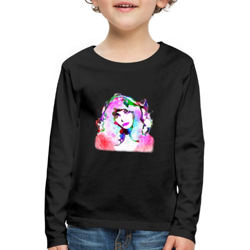 Painted Kate - Kinder Premium Langarmshirt