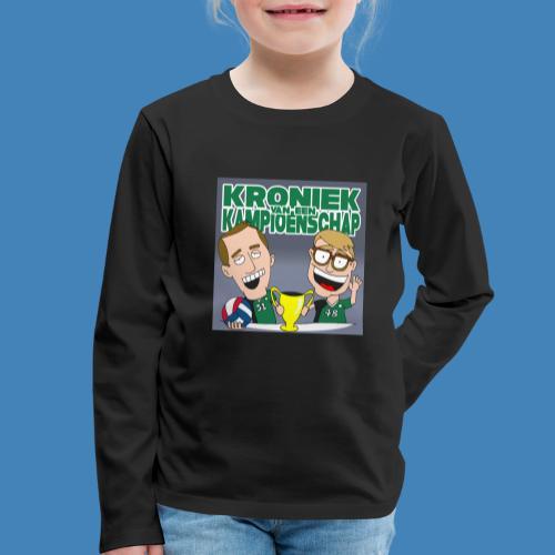 Kroniek van een Kampioenschap - Kinderen Premium shirt met lange mouwen
