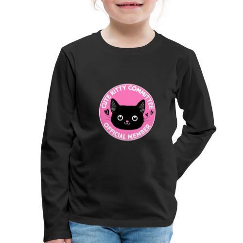 Kitty Committee - Kids' Premium Longsleeve Shirt