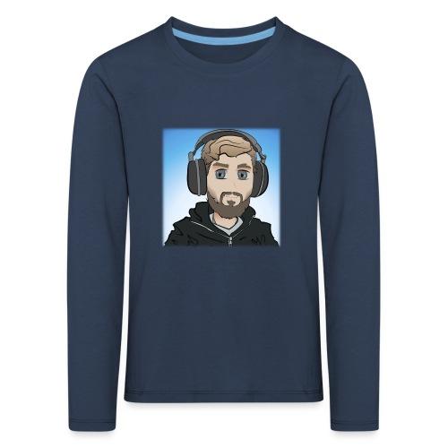 KalzAnimated - Børne premium T-shirt med lange ærmer