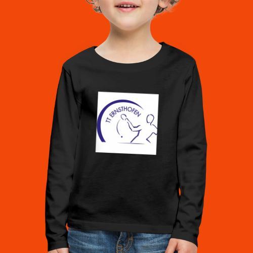 TTE Logo - Kinder Premium Langarmshirt
